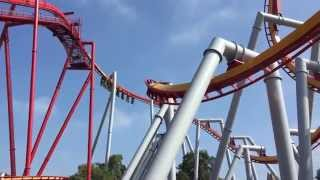 Silver Bullet Roller Coaster - Knotts Berry Farm