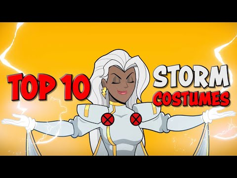 Storm's Top 10 Costumes!