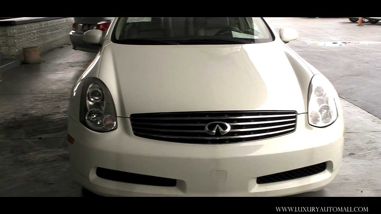 2006 infiniti g35 coupe 6mt youtube. Black Bedroom Furniture Sets. Home Design Ideas