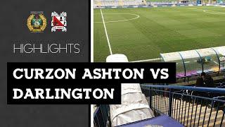 Curzon Ashton 1-1 Darlington - Vanarama National League North - 2018/19