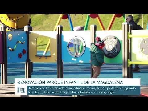 Mejora del Parque Infantil de La Magdalena