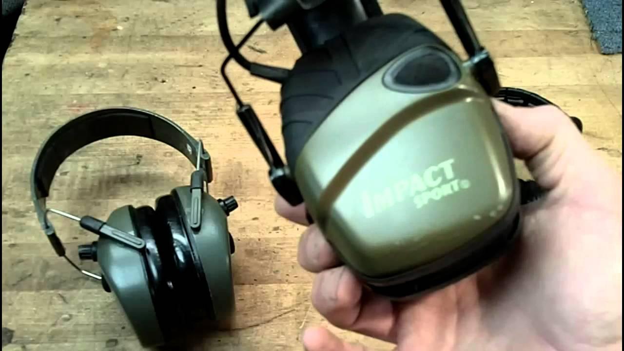 Howard Leight Impact Sports vs Peltor Sport Tactical ...