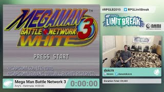 Mega Man Battle Network 3 by doicm (RPG Limit Break 2015 Part 15)
