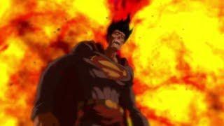 Супермен останавливает Ядерную Боеголовку