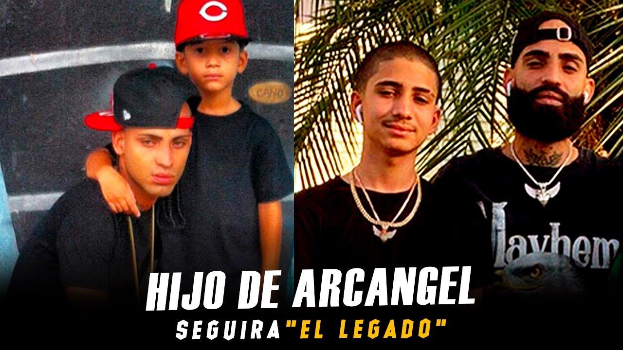 """Hijo de Arcangel: """"Seguire el legado de mi Padre"""""""