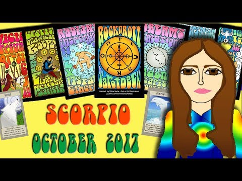 SCORPIO OCTOBER 2017 Jupiter in your Sign! -Tarot psychic reading forecast predictions eclipse