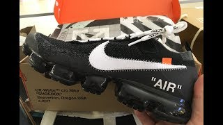 Flew 5,000 miles to pick up Nike x Off-White Vapormax -ナイキ x Off-White スニーカー買いにニューヨークへ