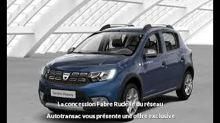DACIA Sandero 0.9 TCe 90ch GPL Stepway - 18 à Rodez - Une occasion Autotransac