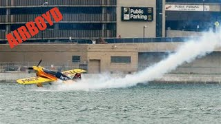 Matt Hall Skims Water -  Red Bull Air Race Qualifying (2010)