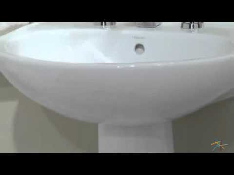 Delicieux Sterling Sacramento 442128 Pedestal Sink   Product Review Video
