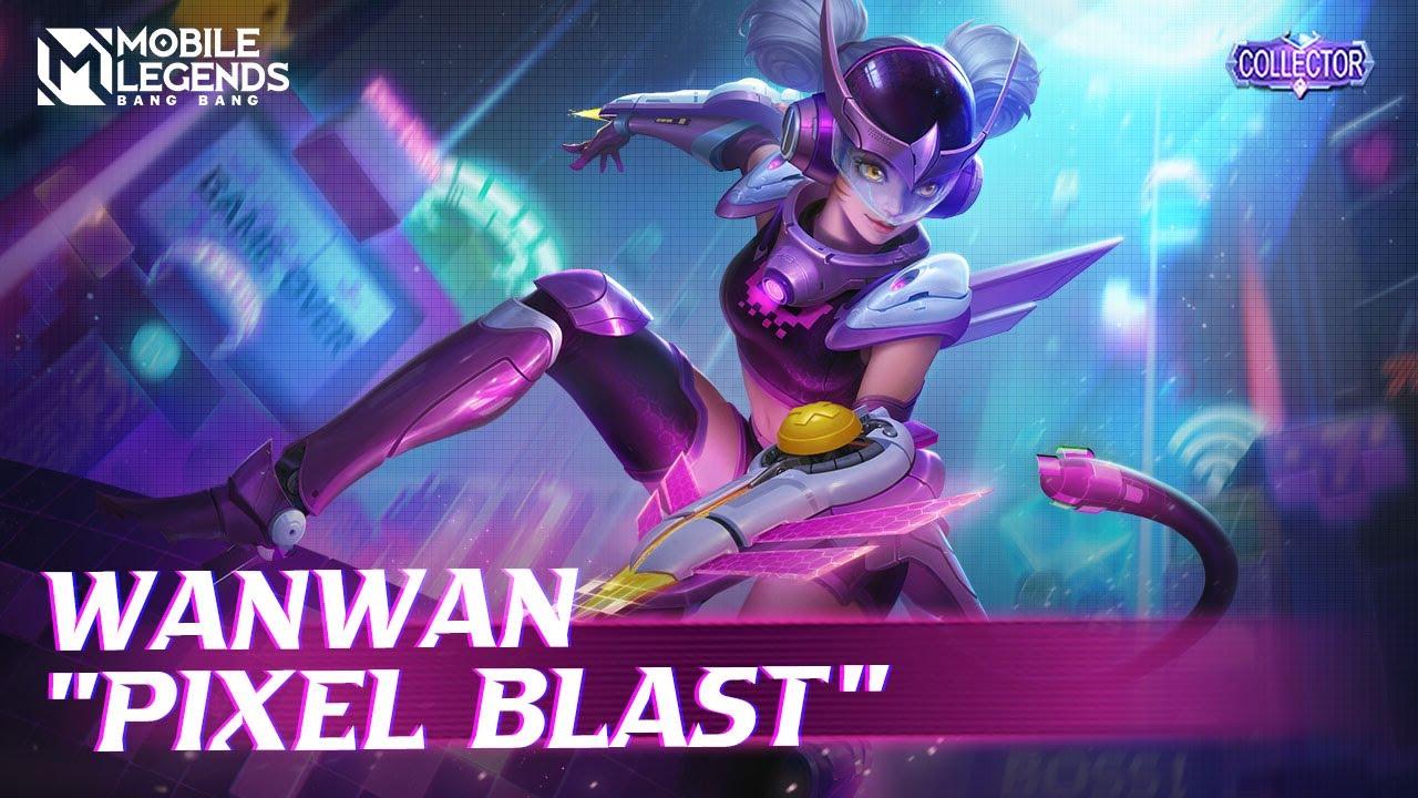 Wanwan New COLLECTOR Skin | Pixel Blast | Mobile Legends: Bang Bang