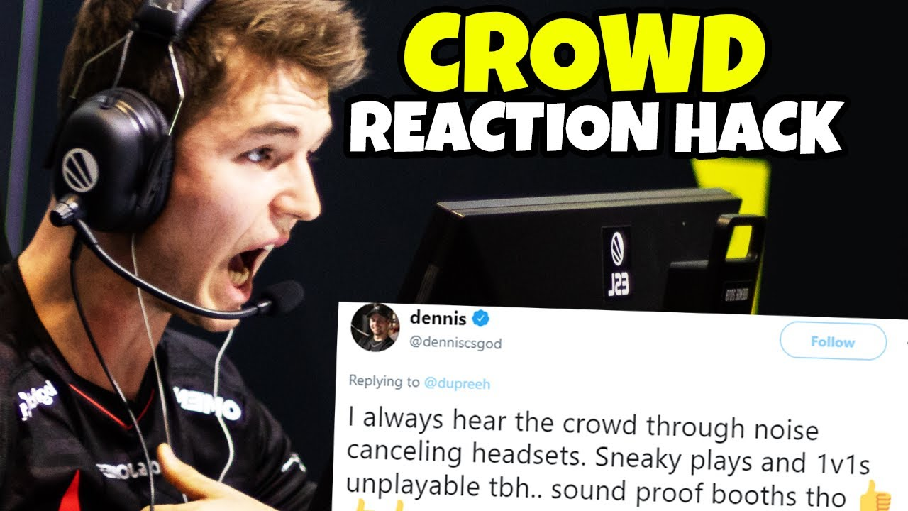 "When CS:GO Pros using ""CROWD HACK"" - (CSGO LEGAL CHEATING) thumbnail"
