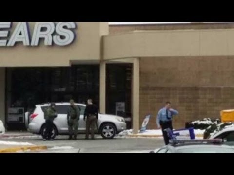 Suburban mall locked down after shooting in Maryland