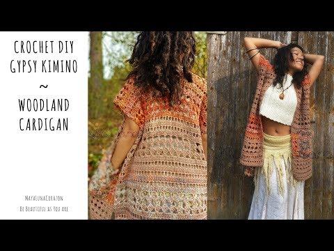 Easy Crochet Sweater/ Crochet DIY Kimino/ Crochet Cardigan for beginners 2017