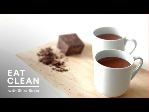 Spiced Almond Milk Hot Chocolate Eat Clean with Shira Bocar