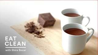 Spiced Almond Milk Hot Chocolate - Eat Clean With Shira Bocar