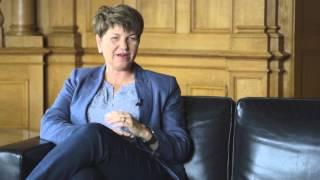"""CVP-Nationalrätin Viola Amherd: """"In der EU-Frage gehe ich mit der Mehrheit der Jugendlichen einig."""""""