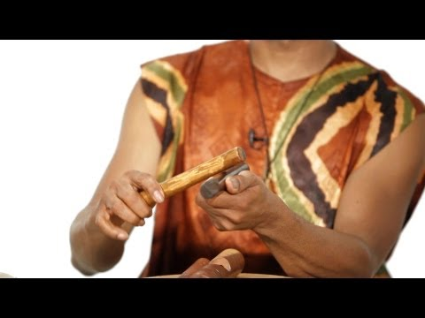 How to Play Claves | African Drums