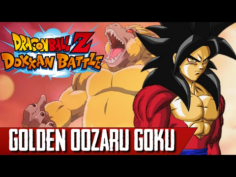 DRAGON BALL Z DOKKAN BATTLE: Event Golden Oozaru Goku