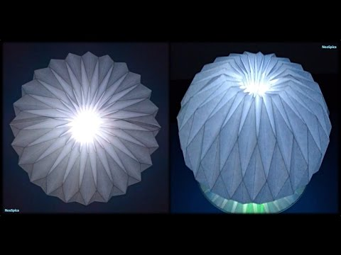 Tutorial 25 - Accordion Ball Paper Folding Origami Decoration