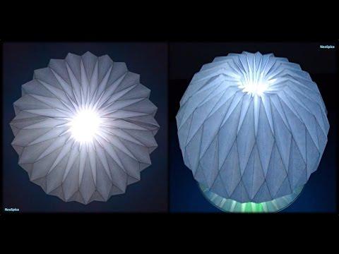 Tutorial 25 - Accordion Ball Paper Folding Origami Decoration