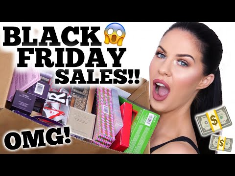 HUGE MAKEUP & BEAUTY HAUL!! SEPHORA, ULTA, MECCA + BLACK FRIDAY SALE RECOMMENDATIONS!! Mp3