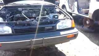 Junkyard Find: 1989 Mazda 323