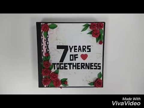 Diy Ideas For Handmade Scrapbook Anniversary Birthdays For