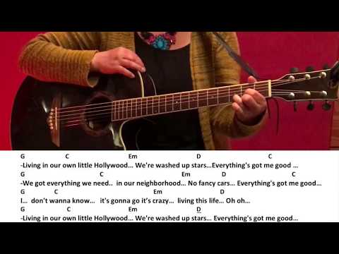 Little Hollywood-Alle Farben /Guitar/Tutorial/Cover/Chords/Lyrics