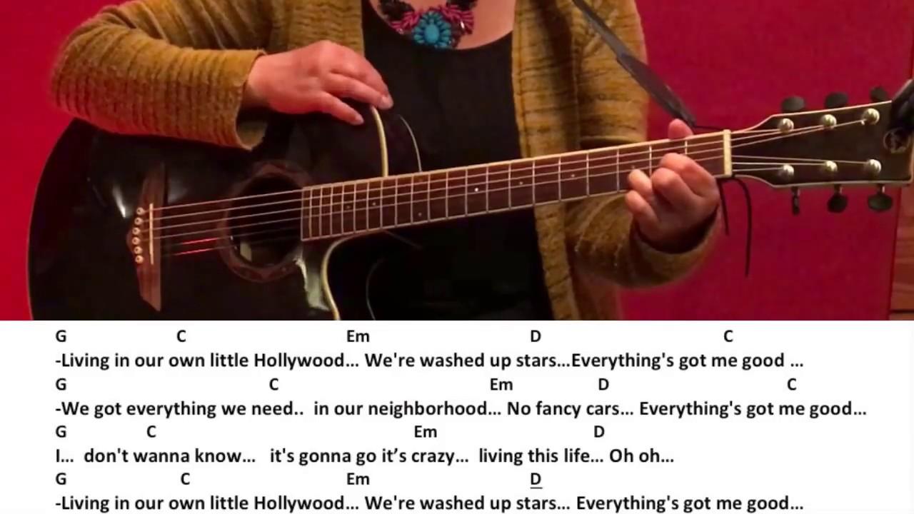 Little Hollywood Lyrics Deutsch