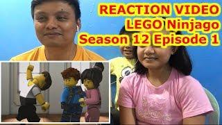 Reaction Video LEGO Ninjago Season 12 Original Shorts Minisode 1 Let's Dance