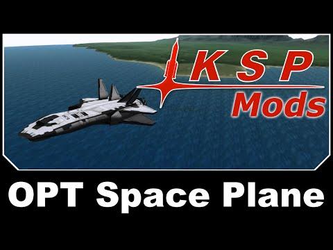 KSP Mods - OPT Space Plane