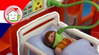 Playmobil filmpje Nederlands Anna in het ziekenhuis - Familie Huizer