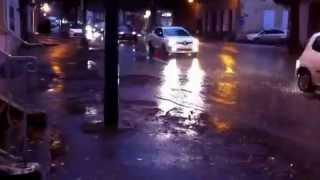 Tournon/Rhone le deluge !
