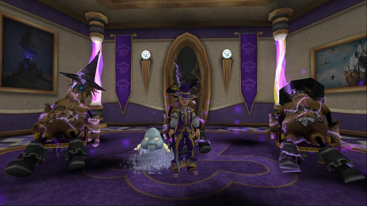 Wizard101 Storm Pets – HD Wallpapers