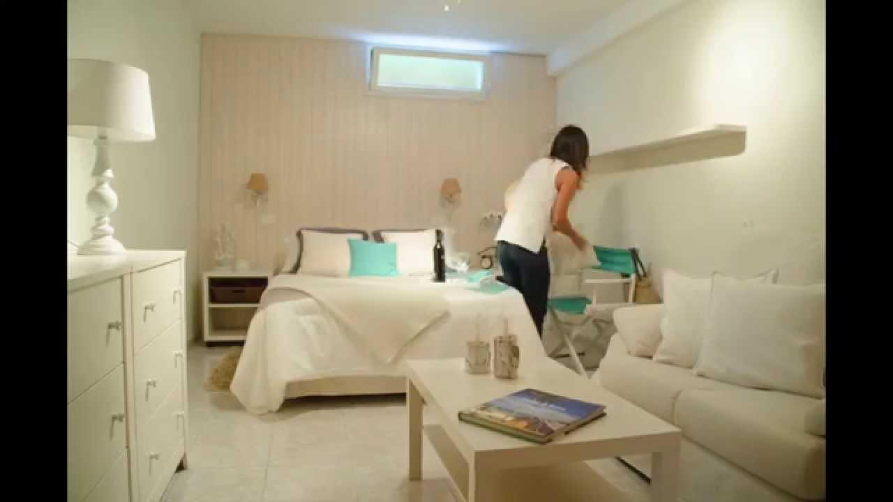 antes y despu s de una habitaci n de alquiler vacacional home staging funciona youtube. Black Bedroom Furniture Sets. Home Design Ideas