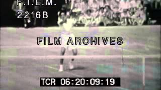 Althea Gibson (stock footage / archival footage)