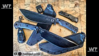 NOMAD Camp Knife by Zeke Menacho w Vic Lin of Work-Tuff-Gear