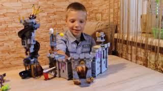 Замок короля свиней из фильма энгри бердс в кино, , Angry Birds в кино,Конструктор Angry Birds 19006