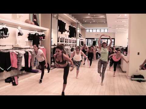 Ballet Bootcamp Calvin Klein March 2017