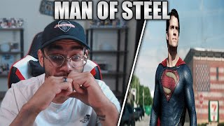 Man of Steel (2013) Movie Reaction! FIRST TIME WATCHING!