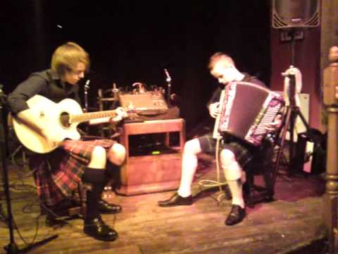 Calum & Sean playing The Teuchter Beat (their own composition)