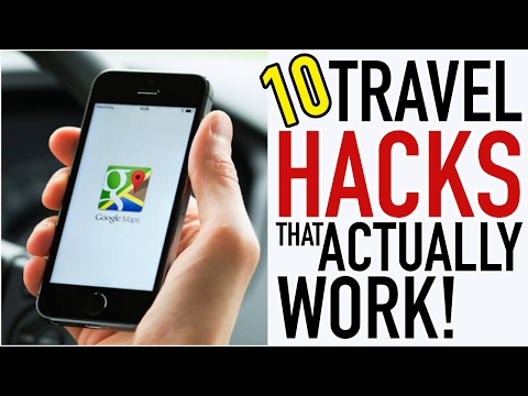 10 AWESOME Travel Hacks That Travellers ACTUALLY USE!!