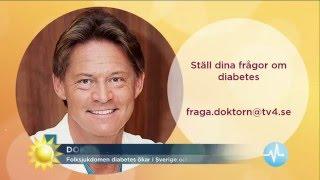 Allt om diabetes - Doktor Mikael förklarar - Nyhetsmorgon (TV4)