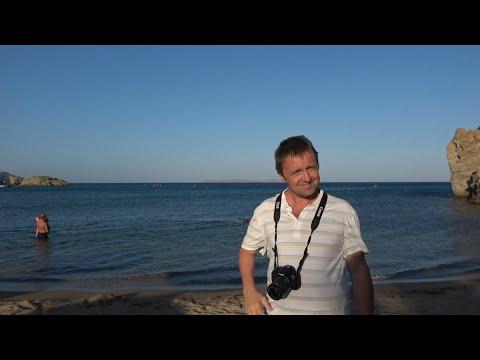 """Крит. Самостоятельное путешествие. Часть 16. Пляж """"Баунти"""", он же Ваи. Ужин у моря. Ночной серпантин"""