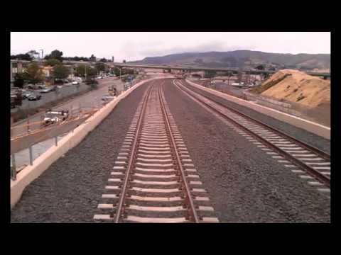 Caltrain San Bruno grade separation ride through May 2013