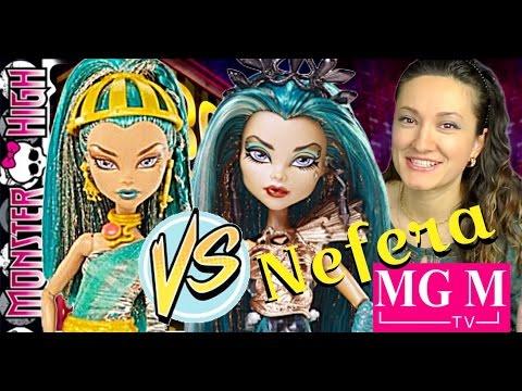 Сравнение двух Нефер! Нефера Бу Йорк и Базовая (Монстр Хай Монстер) Nefera Boo York Monster High