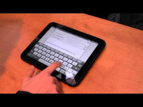 PC Magazine HP TouchPad demo MWC 2011