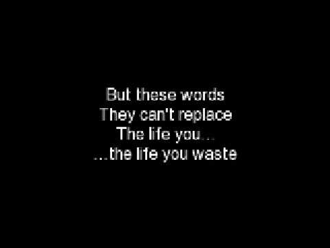Waste by Staind *Lyrics Included*
