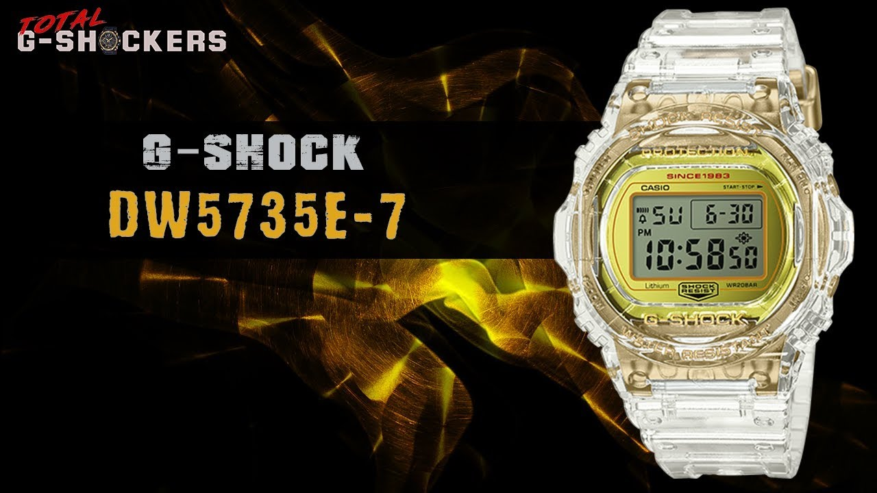 ddad203e7 Casio G-SHOCK DW5735E-7 | Top 10 Things Watch Review - YouTube